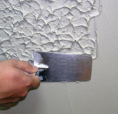 Финишная шпаклевка стен под